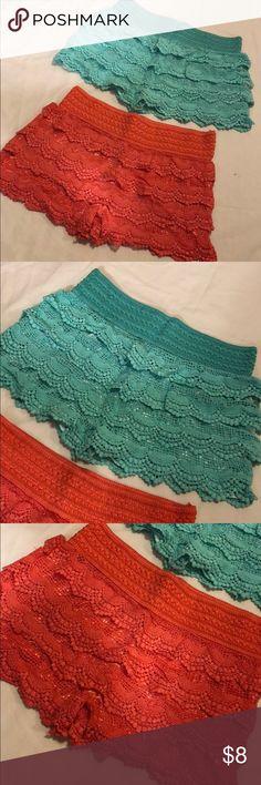 Crochet Shorts Bundle Crochet Shorts Bundle - never worn Shorts Skorts