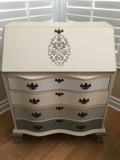 Antique secretary de