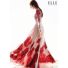 ELLE Canada February 2016 - Mackenzie Hamilton by Owen Bruce - Fashion Editorials found on Polyvore