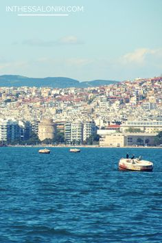 ● Thessaloniki cityscape on a clear day. Macedonia, northern Greece.