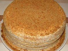 Сметана — 600 Грамм (250 грамм - для теста, 350 - для крема.)Сахар — 2 Стакана (1 стакан для теста, 1 стакан для крема)Мука — 1,5 СтаканаСода — 2/3...