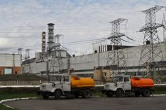 The Chernobyl nuclear power plant.  Construction of a new sarcophagus begins - Chernobyl http://www.demotix.com/news/1176241/construction-new-sarcophagus-begins-chernobyl#media-1176212