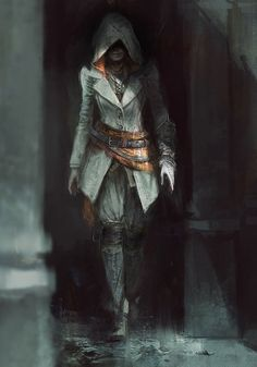 Evie Concept, White Version - Characters & Art - Assassin's Creed Syndicate