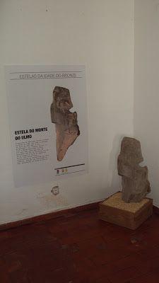 Outeiro do Circo: Estelas da Idade do Bronze de Santa Vitória