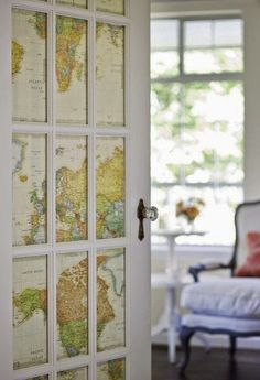 designmeetstyle: Interior doors with glass panes can be a...