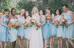 pretty sky blue weddington way bridesmaid dresses
