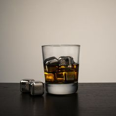 ROX Eternal Ice Cubes - Stainless steel - Reusable ice cubes that won't water down your spirits!