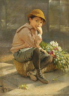 Flower Seller - Karl Witkowski