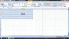 Jak změnit styl tabulky v Excelu