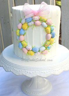 round cake decorating ideas - Google Search