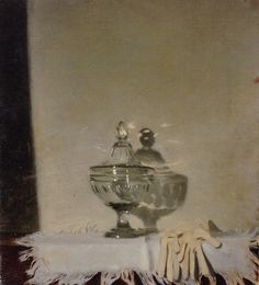 The Glass Bowl by Sir William Nicholson (English 1872-1949)