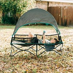 Check on Amazon. Outdoor Furniture Sofa, Furniture Sofa Set, Camping Cot, Camping Items, Portable Toddler Bed, Folding Canopy, Tent Cot, Kids Cot, Travel Cot