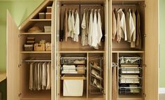 Neville Johnson has a stunning range of fitted wardrobes and fitted bedroom furniture. Fitted Bedroom Furniture, Fitted Bedrooms, Home Furniture, Kitchen Furniture, Office Furniture, Loft Storage, Stair Storage, Bedroom Storage, Storage Ideas
