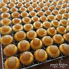 JEANE'S KITCHEN: Pineapple Tarts 黄梨挞