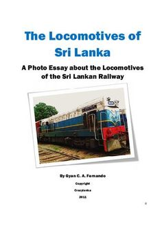transportation system analysis of sri lanka tourism essay A survey was conducted to colombo metropolitan area in the western province of sri lanka to conduct the quantitative research method and to find the influencing factor to select the traveling mode.
