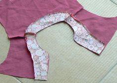 T-shirt à col tunique, Patron couture gratuit - Loisirs créatifs