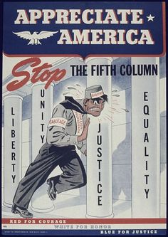 US poster, 1940s