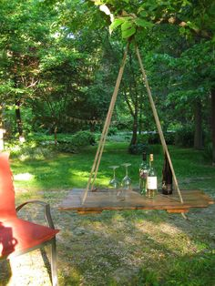 Hanging table DIY inspiration