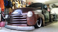 54 Chevy Truck, Chevrolet 3100, Chevy Pickup Trucks, Chevy Pickups, Chevrolet Trucks, Cool Trucks, Cool Cars, Automotive Shops, Lowered Trucks