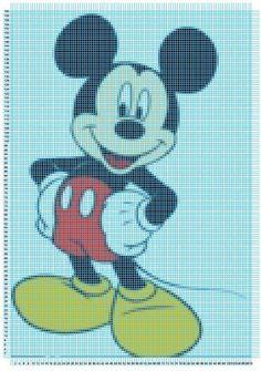 Patrones Punto de Cruz de Disney :: Esquemas de punto de cruz de ...