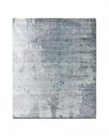 Rug Star. I am Classic. Arabesque No. 04 Light Silver Blue. 70% Tibetan highland wool 30% Chinese silk. 250 cm x 300 cm