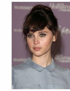 Felicity Jones. I like her nose.