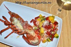 Grilled #lobster Homar la grill Grilled Lobster, Grills, Seafood Recipes, Breakfast Recipes, Easy Meals, Food And Drink, Homemade, Dishes, Meat