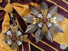 A Rare Lithuanian Order of the Grandduke Gediminas; First Class