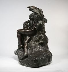 "Work Featured @    Art HK 2011, Booth #IU 08  May 25 - 29, 2011  --    Auguste Rodin  L'Eternel Printemps / Eternal Springtime  Second State, First reduction  Bronze with black-brown patina  66.2 x 83 x 41 cm  Signed ""Rodin"" on the right of the back side of the mound  Foundry stamp: F.BARBEDIENNE, Fondeur  Stamped three times on the inside: VL  Estimate date of cast: 1905 - 1907 ( a lifetime cast )"