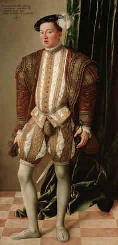 """Jonquil O'Reilly, """"Codpieces: Style on the Rise,"""" Sotheby's News (22 November 2016). Image: Jakob Seisenegger, Portrait of Archduke Ferdinand of Tyrol, 1548 (Vienna: Kunsthistorisches Museuem)."""