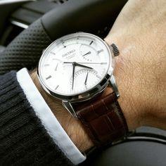 Owner's club Seiko Presage (SARB SARC SARX SARW...) - Page 16 Seiko Presage, Fine Watches, Watches For Men, Patek Philippe, Sport Man, Vintage Watches, Luxury Watches, Omega Watch, Jewelry Watches
