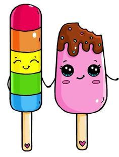 Popsicle Couple
