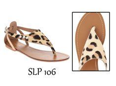 Sandalias de piel leopardo. Encuentralas en la shop online de www.tantraimpex.com #Tantraimpex #shoponline #acessories