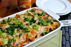 Chicken Recipes Pumpkin Enchiladas recipe