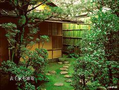 [Omote senke] tea room: Fushin'an. [表千家不審菴]不審庵 外観