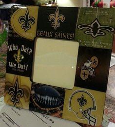 New Orleans Saints  True Fan Picture Frame