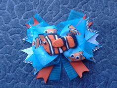Nemo inspired stacked bow #cofbeads