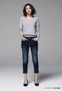 GU(ジーユー) SHIHO with JEANS ーフィロソフィー ー | WOMEN