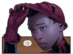 "Marvel's decision to create Miles Morales - a half-black, half-Hispanic teenager as the next Spiderman (albeit in an ""alternate universe"") sparked a controversy in August."
