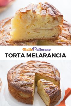 CAKE MELARANCIA is a simple and genuine dessert prepared with slices of apple, juice and orange peel! Perfumed and soft, it is perfect for breakfast or a Quick Easy Vegan, Best Banana Bread, Sweet Chili, Breakfast Dessert, Diy Cake, Sweet Cakes, Savoury Dishes, Desert Recipes, Creative Food