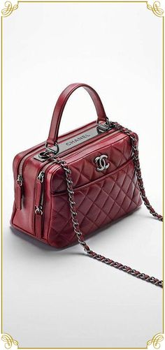 Find the Lambskin bowling bag embellished… – CHANEL  at The RealReal e87fe660a71