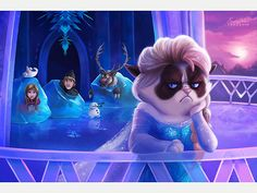 The Daily Treat: See Grumpy Cat in Your Favorite Disney Movies| Cats, Pet News