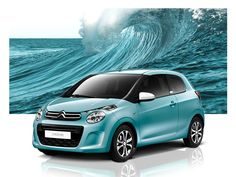 Blue Lagoon is not the name of a new trendy vacation spot, this is the new color of our C1! #Citroën #C1
