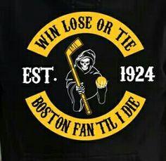 Boston Fan til I die.