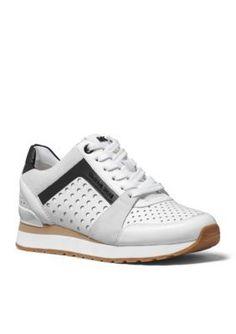 MICHAEL Michael Kors Optic White Billie Trainer Sneaker