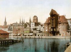 Wahrzeichen von Danzig aus dem 15. Jahrhundert. Als ein Prunkstück der Backsteingotik diente das Danziger...