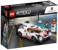 LEGO 75887 Speed Champions Porsche 919 Hybrid for sale online Lego Speed Champions Porsche, Porsche 919 Hybrid, Lego Autos, Lego Online, Lego Cars, Lego Wheels, Porsche Rsr, 1968 Ford Mustang Fastback, Lego System