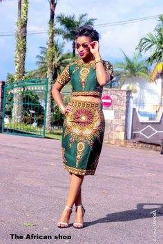 The African Shop ~Latest African Fashion, African Prints, African fashion… African Inspired Fashion, African Print Fashion, Africa Fashion, Fashion Prints, Fashion Design, Fashion Styles, Fashion Blogs, Fashion Women, Fashion Outfits