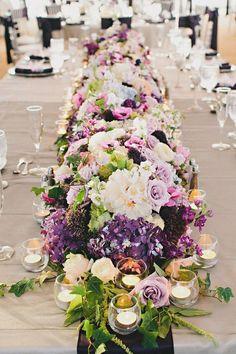 Inexpensive Garden Wedding Table Centerpieces 11
