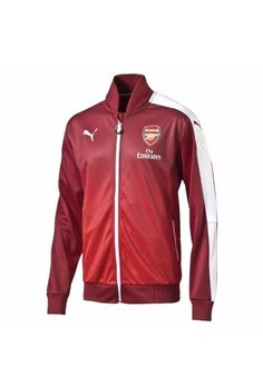 0df6fdea28cac2 PUMA Men s ARSENAL STADIUM TRACK TOP JACKET Red  fashion  clothing  shoes   accessories